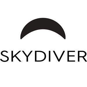 Logotipo Skydiver